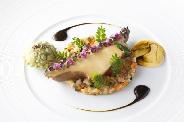 野菜と海の幸のランチコース